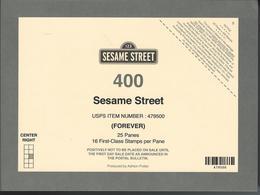USA. Scott #  Mint Deck Card. Sesame Street 50th Anniv.  2019 - Souvenirs & Special Cards