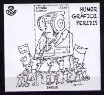 ESPAÑA 2015 - HUMOR GRAFICO - PERIDIS - BLOCK - Edifil Nº 4978 - 1931-Hoy: 2ª República - ... Juan Carlos I