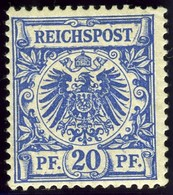 Germany. Sc #49c. Unused. - Unused Stamps