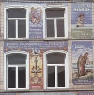 Artis Historia 2 Fiches 4 Pages 17 X 17cm  Pharmacie Milet Binche Publicite Faiences    Voir Descriptif Complet - Binche