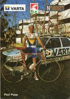Cyclisme, Paul Popp - Cyclisme