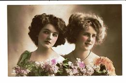 CPA - Carte Postale -Belgique - Deux Jeunes Dames-1912 -VM3847 - Femmes