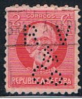 CUBA 142 // Y&T 176 // PERFORE / PERFIN // 1917 - Cuba