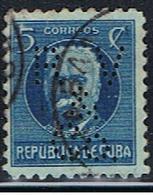 CUBA 146 // Y&T 178 // PERFORE / PERFIN // 1917 - Cuba