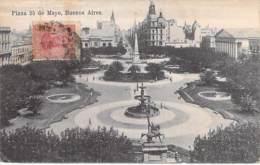 ** Lote De 2 Postales ** ARGENTINA Argentine - BUENOS AIRES : Plaza 25 De Mayo - CPA - AMERIQUE DU SUD Sudamerica - Argentine