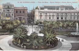 ** Lote De 2 Postales ** ARGENTINA Argentine - BUENOS AIRES : Plaza De Mayo - CPA Colorisée AMERIQUE DU SUD Sudamerica - Argentine