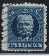 CUBA 147 // Y&T 178 // PERFORE / PERFIN // 1917 - Cuba