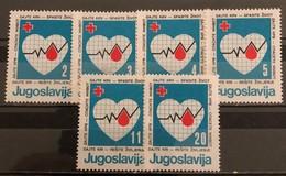 Yugoslavia, 1986, Mi: ZZ 105/10 (MNH) - Neufs
