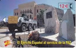 CP-260 TARJETA DE EL EJERCITO ESPAÑOL EN BOSNIA DEL 7/02 Y TIRADA 50200 - España