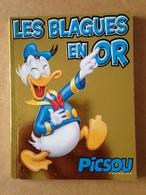 Disney - Picsou Magazine ° Année 2012 - Les Blagues En Or - Supplément Au N°480 - Picsou Magazine