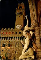 Italy Firenze View Of Piazza Signoria 1969