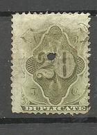 USA Tax Revenue Dublicate 20 Cent O - Telegraph Stamps