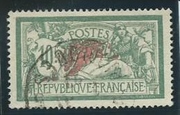 FRANCE: Obl., N° YT 207, Vert Et Rouge, B Centré, TB - 1900-27 Merson