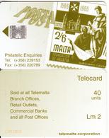 MALTA - Stamp, Posta, Philatelic Enquiries, CN : C78113102, 08/97, Used - Malte