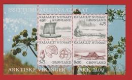 Groenland °°  1999 Bloc 17 Vikings Navires Arts (WP18) - Groenland