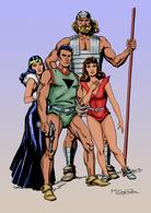Poster DIN 4 Medida 21 X 29,5 Cm Modelo 23: Los Exploradores Del Universo De Miguel Quesada - Sin Clasificación