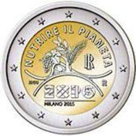 Italy. 2 Euro. The EXPO Exhibition In Milan. UNC. 2015 - Italie