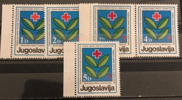 Yugoslavia, 1985, Mi: ZZ 88-92 (MNH) - 1945-1992 Sozialistische Föderative Republik Jugoslawien