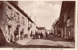 MONT-SAINT-VINCENT RUE DE LA LEVEE - Autres Communes