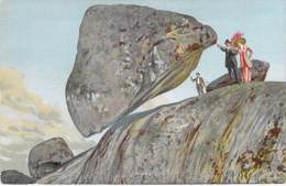 ARGENTINA Argentine - TANDIS : Pietra Movediza - Jolie CPA Illustration - AMERIQUE DU SUD Sudamerica - Argentine