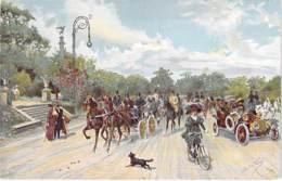ARGENTINA Argentine - BUENOS AIRES : Recoleta - Avenida Alvear - Jolie CPA Illustration - AMERIQUE DU SUD Sudamerica - Argentine
