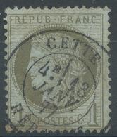 Lot N°49967  N°50, Oblit Cachet à Date De CETTE, Herault, 33 - 1871-1875 Ceres