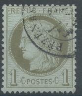 Lot N°49969  Variété/n°50, Oblit Cachet à Date Pézénas, Hérault (33), Filet Blanc Le Long Des Perles EST - 1871-1875 Cérès