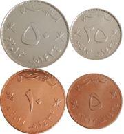 Oman. Set, Set Of Coins. 5, 10, 20, 50 Baizas - Oman
