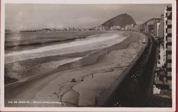 Bresil Brazil Brasil Rio De Janeiro - Photo Card Fotokaart Praia Copacabana - Rio De Janeiro