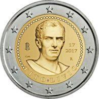 Italy. Coin. 2 Euros. Tito Livy. UNC. 2017 - Italy