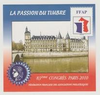 """FFAP N° 4 : La Passion Du Timbre -"""" Paris 2010"""" - Neuf état Impeccable - FFAP"""
