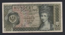 Banconota Austria - 100 Schilling 1969 (circolata) - Austria