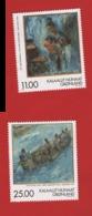 Groenland °°  1998 304/305 Tableaux (WP18) - Groenland