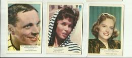 *3x  /FILM CHROMO  *      *------------- Nrs 59-60 -61 - Photographs