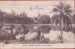 Bresil Brazil Brasil Rio De Janeiro - Jardim Do Museu Nacional Brazilie - Rio De Janeiro