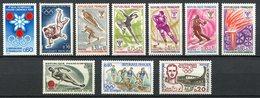 FRANCIA / FRANCE - Timbres Jeux Olympiques / Olympics Stamps / Sellos Juegos Olímpicos, Varios Años - Juegos Olímpicos