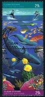 Nations-Unies (New York) - éservaton De L'environnement Marin 607/608 (année 1992) Oblit. - New-York - Siège De L'ONU