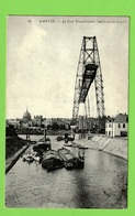 NANTES - LE PONT TRANSBORDEUR - VUE PRISE DU CANAL - Nantes