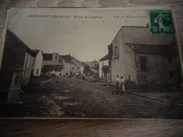 AUGICOURT ROUTE DE LAMBREY - Autres Communes