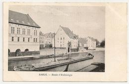 NAMUR - Musée D'Archéologie. Péniche à Voile. - Musées