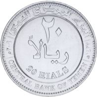 Yemen. Coin. 20 Riyals. UNC - Yemen