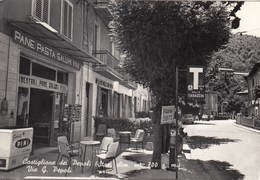 CASTIGLIONE DEI PEPOLI-BOLOGNA-=INSEGNA SALI E TABACCHI=-CARTOLINA VERA FOTOGRAFIA-VIAGGIATA IL 26-10-1962 - Bologna