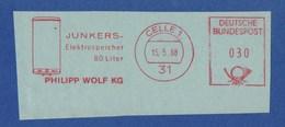 BRD AFS - CELLE, Philipp Wolf KG - JUNKERS - Elektrospeicher 80 Liter 15.5.68 - Fabbriche E Imprese