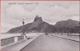 Bresil Brazil Brasil Rio De Janeiro - Avenida Delfim Moreira Brazilie RARE CPA - Rio De Janeiro