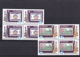 Filipinas Nº 1890 Al 1891 En Bloque De Cuatro - Filipinas
