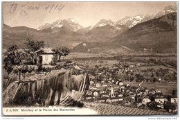 SUISSE - VALAIS - MONTHEY - Vue Sur La Pierre Des Marmettes. - VS Valais