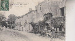 MAREUIL  SUR BELLE    HOTEL ST MARC  RUE CARNOT - Francia