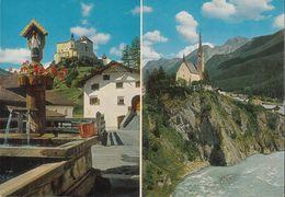 Schweiz- 7550 Scuol-Tarasp-Vulpera - Schloß Tarasp - Kirche - Church - GR Graubünden