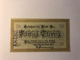 Allemagne Notgeld Aue 50 Pfennig - Collections