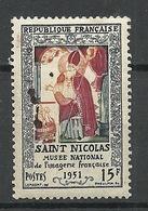 FRANCE 1951 Michel 922 St. Nicolas * - France
